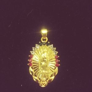 💎Our lady of Guadalupe crystal pendant